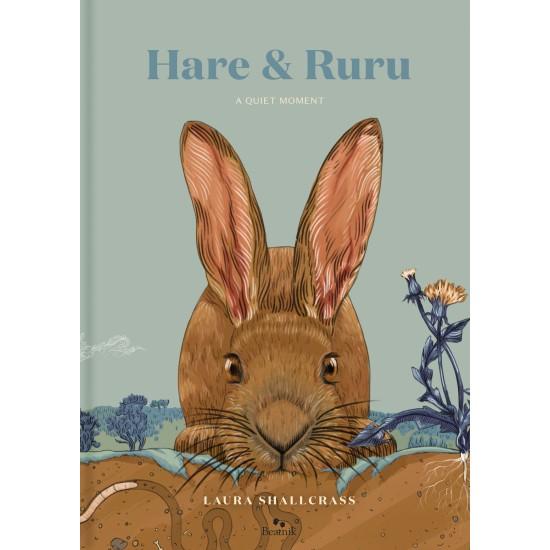 Hare & Ruru: A Quiet Moment by Laura Shallcrass