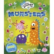 Little Hands Creative Sticker Play Monsters