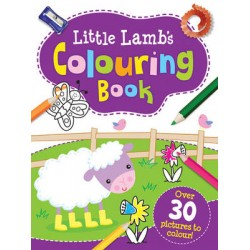Little Lambs Colouring Book