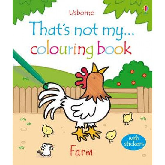 That's Not My...Farm Colouring Book