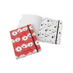 Lisa Stickley Noterbook with Pockets