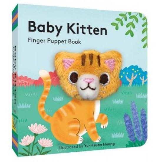 Baby Kitten: Finger Puppet Book