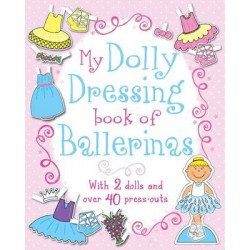 Dolly Dressing Book of Ballerinas