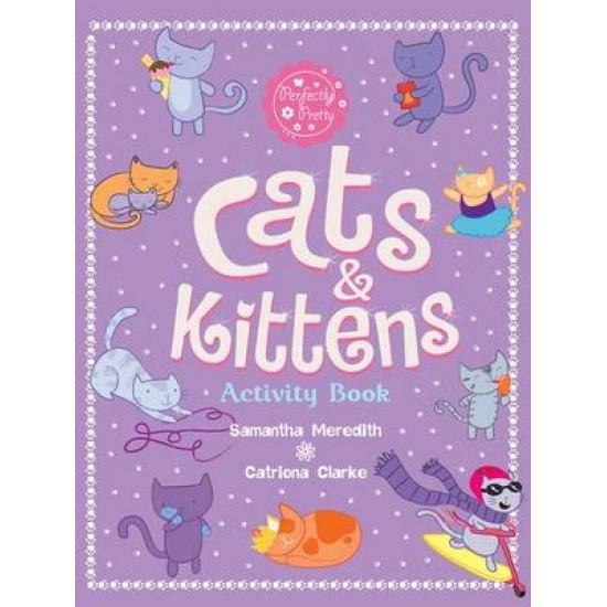 Cats & Kitten Actvity Book