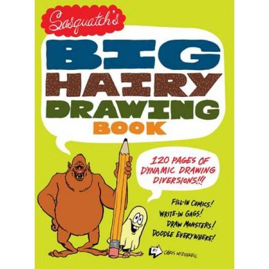 Sasquatchs Big Hariy Drawing Book