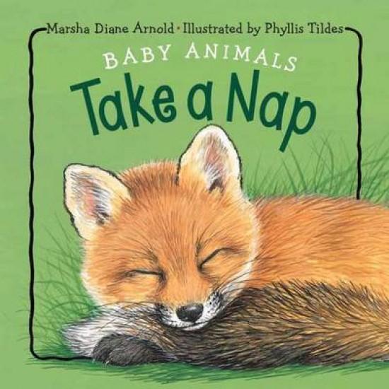 Baby Animals Take A Nap