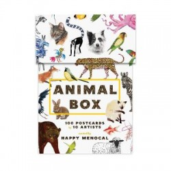 Animal Box Postcards
