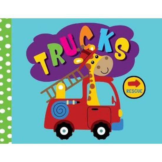 Cloth Book- Trucks