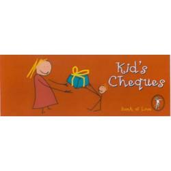 Cheque Books - Kids Cheques