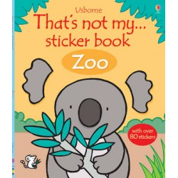 THATS NOT MY STICKER BOOK - ZOO