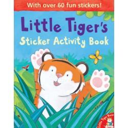 Little Tigers: Sticker Activity Book