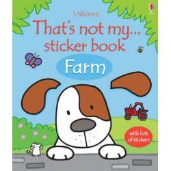 Thats Not My Sticker Book Farm