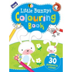 Little Bunnys Colouring Book