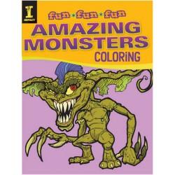 Fun Fun Fun: Amazing Monsters Coloring